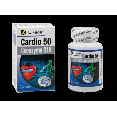 Links Cardio 50 (Co-Q10) 60s