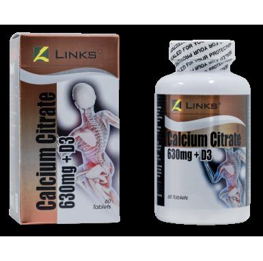 Links Calcium Citrate + Vitamin D